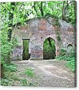 Iron Foundry Ruins Canvas Print
