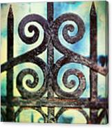 Iron Gate Detail Canvas Print