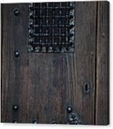 Iron Gate Window Canvas Print