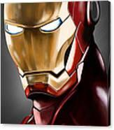 Iron Man Painting Canvas Print