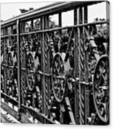 Iron Work Canvas Print