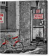Irony In The Alley Canvas Print