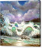 Irresistible Force  Canvas Print