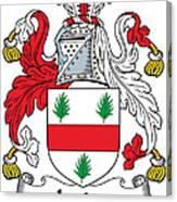 Irvine Coat Of Arms Irish Canvas Print