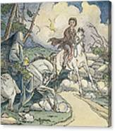 Irving: Sleepy Hollow, 1849 Canvas Print