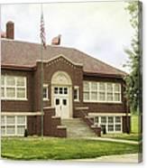 Irvington School Canvas Print