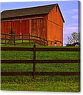 Is Every Barn Red Canvas Print