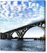 Isaac Lee Patterson Bridge Canvas Print
