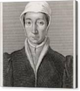 Isabella Of France  Consort Of Edward Canvas Print