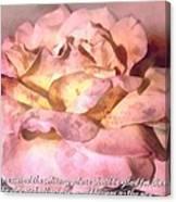 Isaiah 35 1 Canvas Print