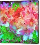 Isaiah 58 14 Canvas Print