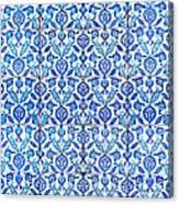 Islamic Tiles 01 Canvas Print