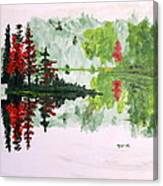 Island Alone Canvas Print