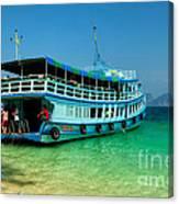 Island Ferry  Canvas Print