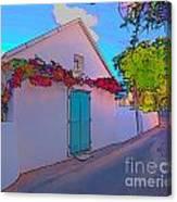 Island Home Canvas Print