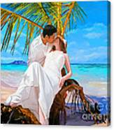 Island Honeymoon Canvas Print