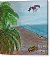 Island In Philippines Canvas Print