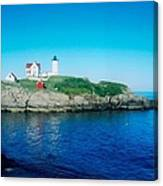 Island Lighthouse Canvas Print