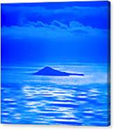 Island Of Yesterday Wide Crop Canvas Print