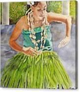 Island Rhythms Canvas Print