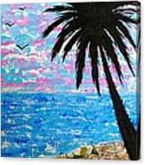 Island Seascape  Canvas Print