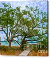 Island Time On Daniel Island Canvas Print