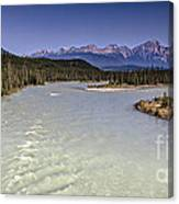 Islands On The River In Jasper Canvas Print