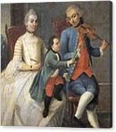 Islas, Andr�s De 18th C.. From Castizo Canvas Print