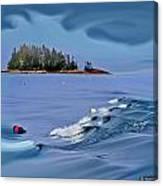 Isle Au Haut Dream Canvas Print