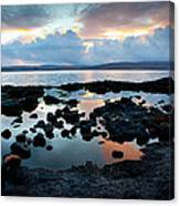 Isle Of Mull Sunset Canvas Print