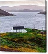 Isle Of Skye Cottage Canvas Print
