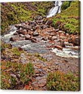 Isle Of Skye Waterfall Canvas Print