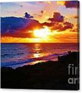 Isle Sol Chica  Canvas Print