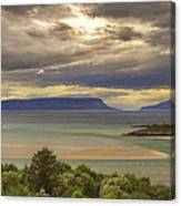 Isles Of Eigg And Rum Canvas Print