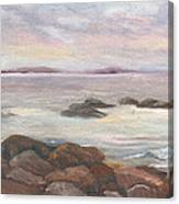 Isles Of Shoals From Odiorne Point Canvas Print