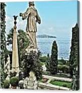 Isola Bella And Lake Maggiore Canvas Print