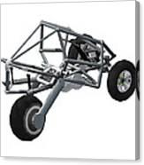 Isometric Lean Frame Transformer Transporter Canvas Print