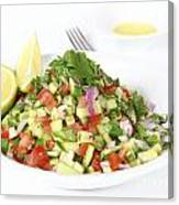 Israeli Salad  Canvas Print