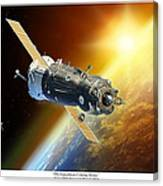 ISS Expedition Coming Home Canvas Print
