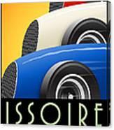 Issoire France Grand Prix Historique Canvas Print