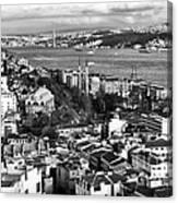 Istanbul Cityscape IIi Canvas Print