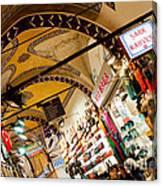 Istanbul Grand Bazaar 11 Canvas Print