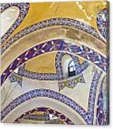 Istanbul Grand Bazaar Interior Canvas Print