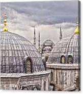 Istanbul Landmarks  Canvas Print