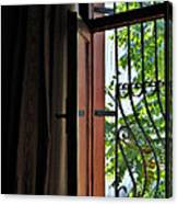 Istanbul Window Canvas Print