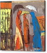 It Is Raining Canvas Print