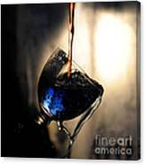 It Is Red And Blue Canvas Print