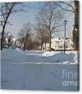 It Snowed Canvas Print