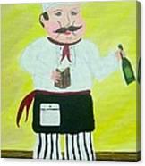 Italian Chef 3 Canvas Print