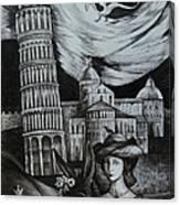 Italian Fantasies. Pisa Canvas Print